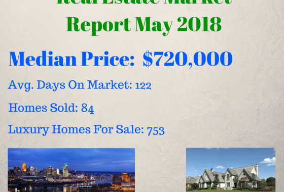 Greater Cincinnati Luxury May 2018 Market Report